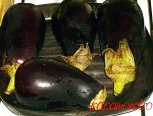 salata de vinete cu rosii coapte