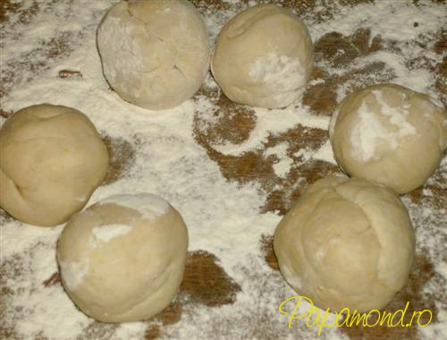 bile din aluat pentru tortillas