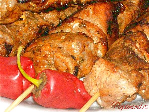 Frigarui de porc Pinchos Morunos, spaniole