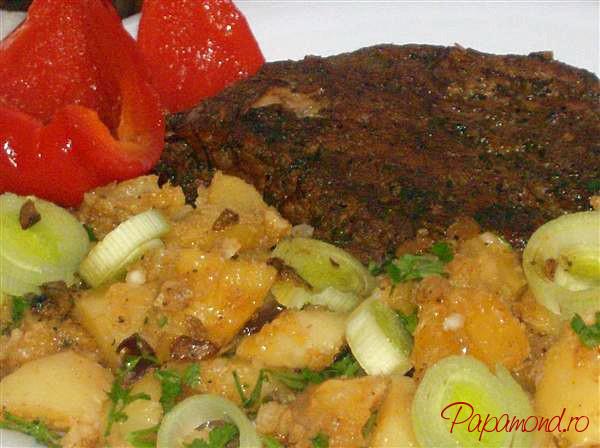Pulpa de porc si cartofi taranesti