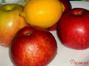 Mere si lamaie pentru placinta cu mere