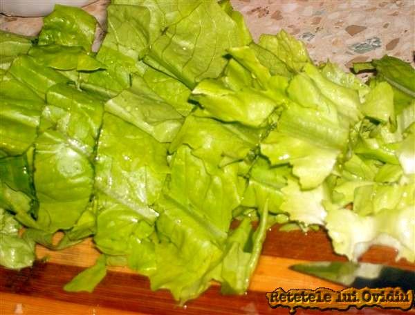 salata verde pentru ciorba de salata verde