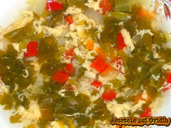 ciorba de salata verde cu zeama de varza