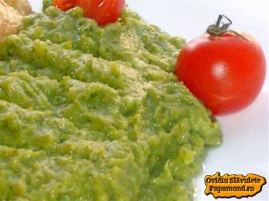 piure de broccoli
