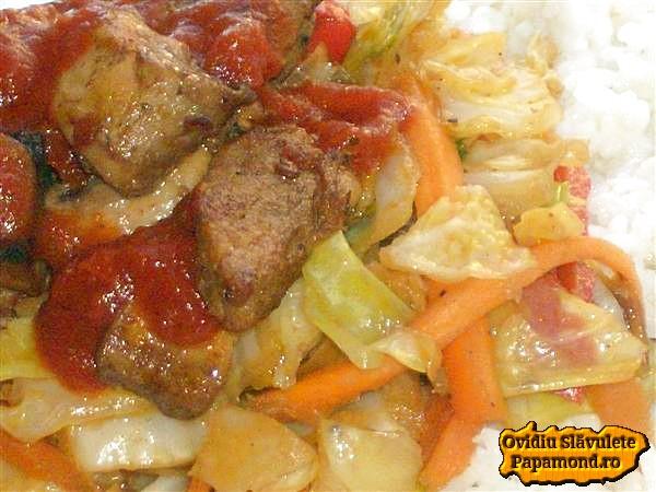 varza la wok