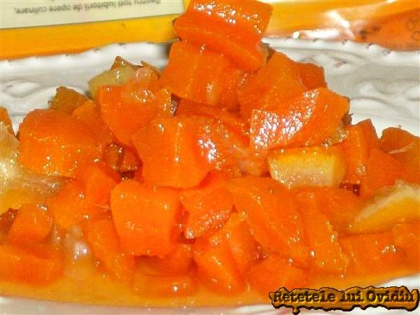 dulceaţa de morcov cu citrice