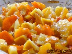 citrice pentru dulceata de morcovi