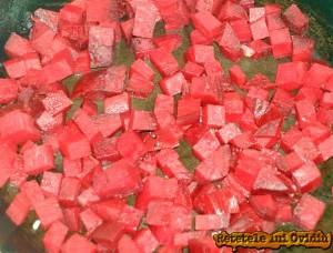 sfecla rosie pentru risotto