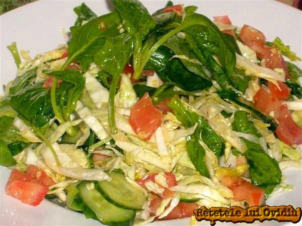 salata de spanac si varza