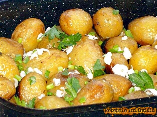aripioare si cartofi