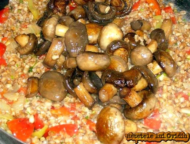 reteta de mancare de arpacas cu ciuperci
