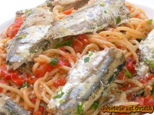 reteta de paste cu sardine