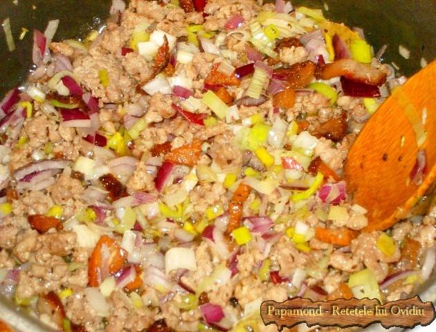 Varza cu carne tocata sau cum am rasfirat sarmalele (5)