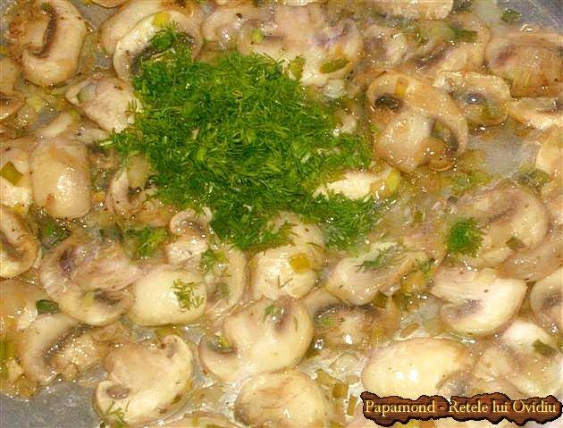urzici cu ciuperci si oua 6