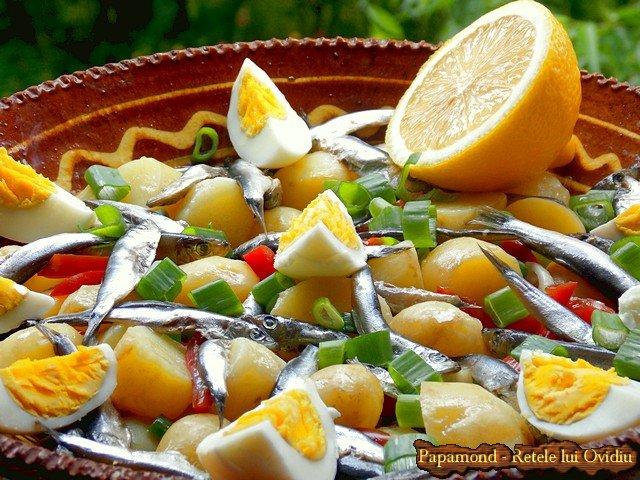salata de cartofi noi cu hamsii (12)