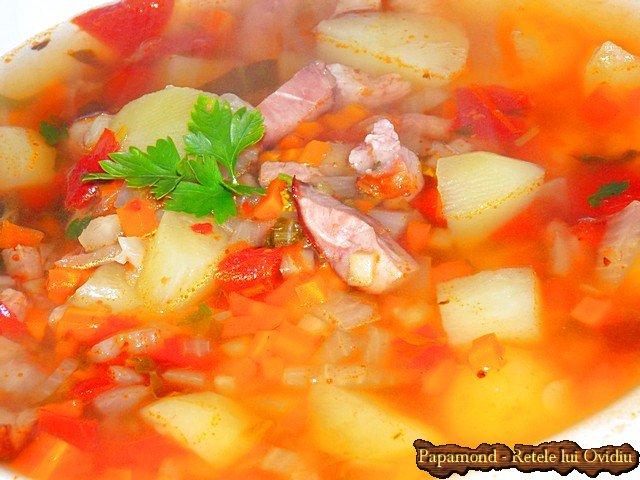 ciorba de cartofi noi cu afumatura 1 (6)