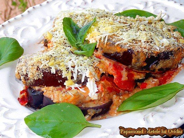 Vinete la cuptor. Tavalite prin pesmet, cu branza si sos taranesc de rosii - www.papamond.ro (16)