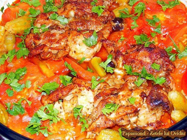 mancare de bame cu carne de pui - www.papamond.ro (12)
