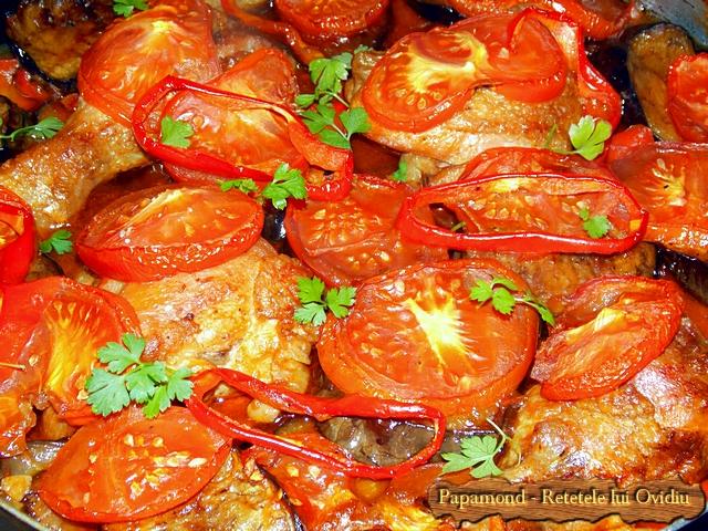 mancare de vinete cu carne de pui - www.papamond. ro (15)