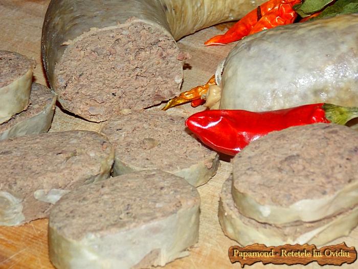 Lebar. Carnat de ficat - leberwurst - www.papamond. ro (11)