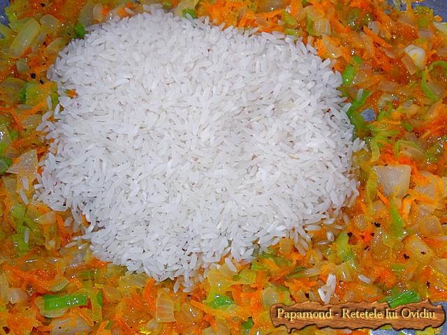 garnitura de orez cu praz 2