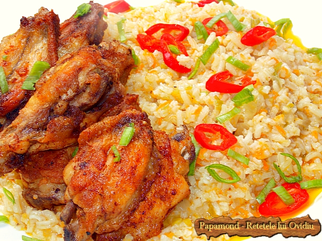 garnitura de orez cu praz 5