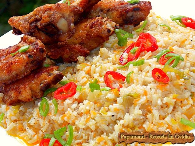 garnitura de orez cu praz 6