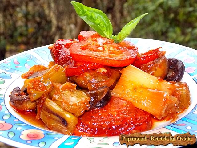 plachie de praz, cu ciuperci si masline - www.papamond. ro (14)