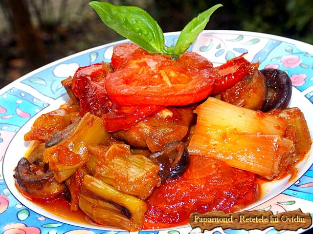 plachie de praz, cu ciuperci si masline - www.papamond. ro (15)