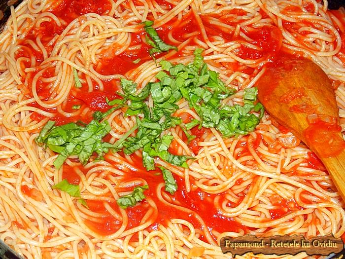 Paste cu sos de rosii si busuioc - www.papamond. ro (3)