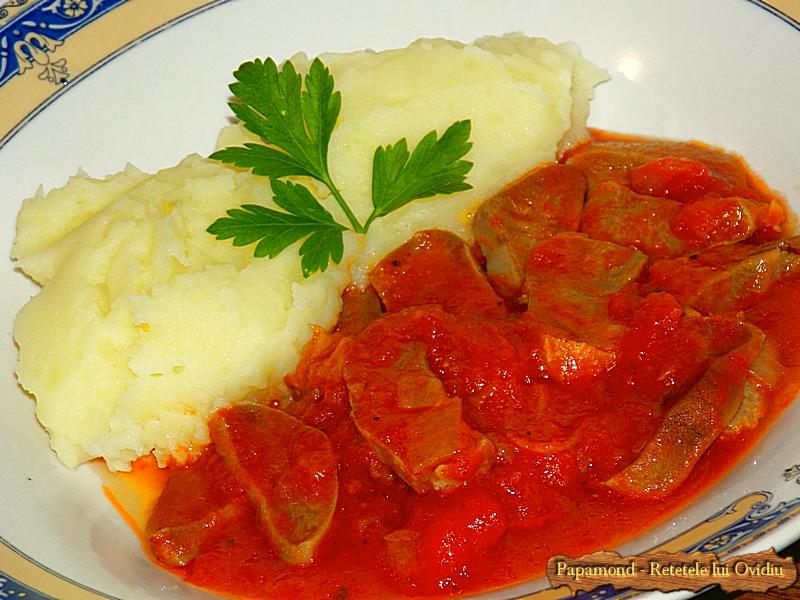 Limba de porc cu sos tomat - Papamond 13