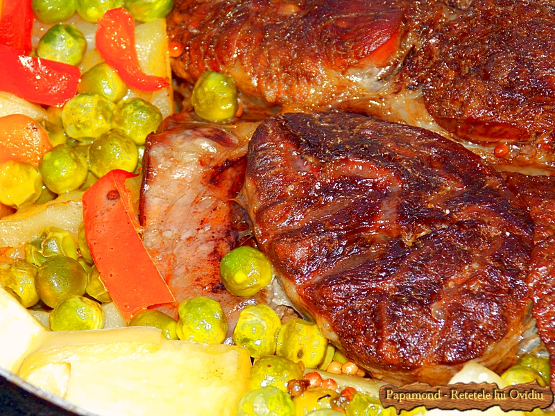 rasol de vita cu legume la cuptor - Papamond 20