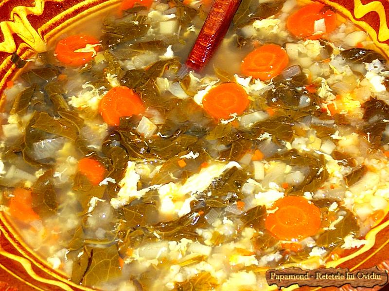 Ciorba de dragavei cu orez si zdrente de ou - Papamond (7)