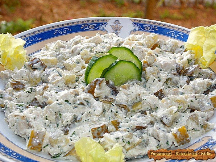 Salata de piept de pui cu maioneza