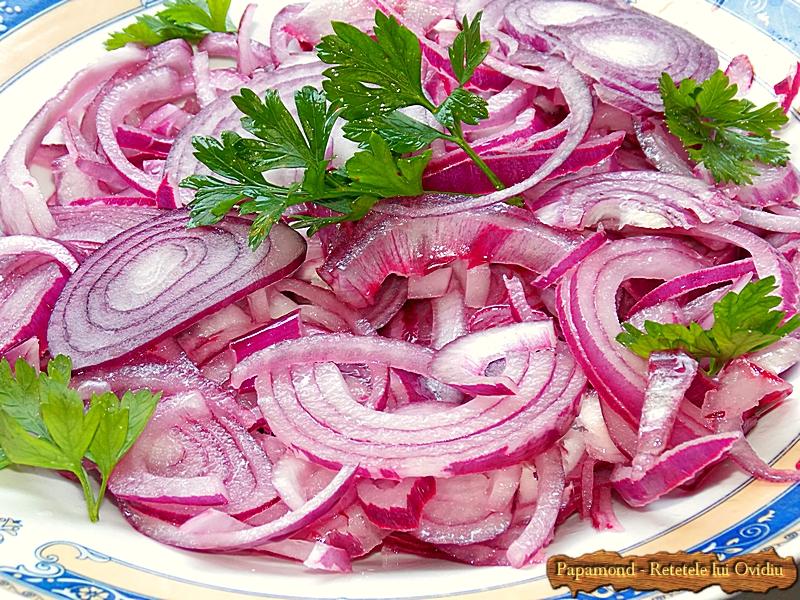Salata de ceapa rosie (2)