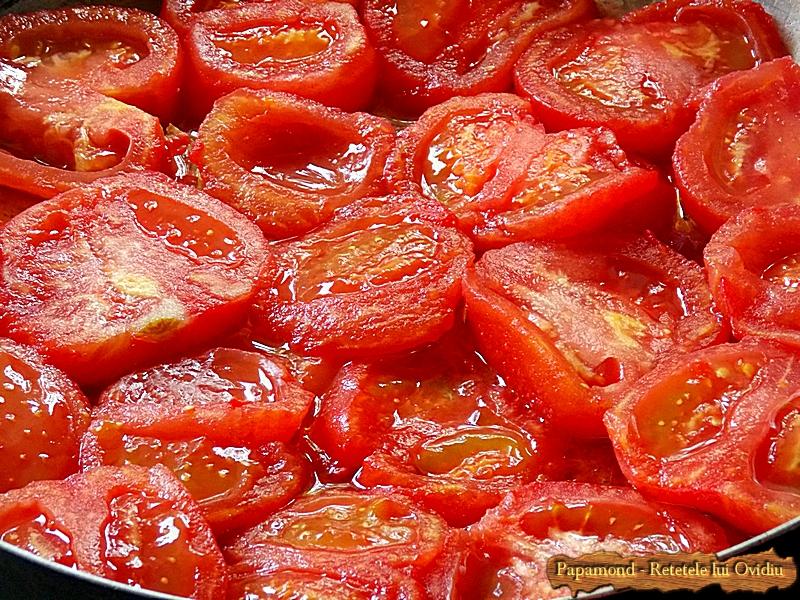 Vinete cu usturoi si rosii la cuptor (1)