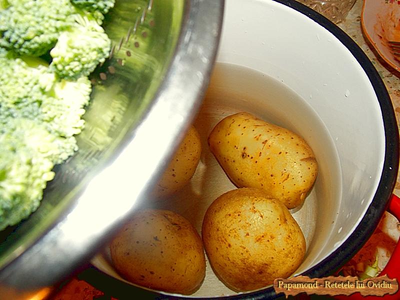 Salata de Broccoli si Cartofi cu Masline Picante (7)