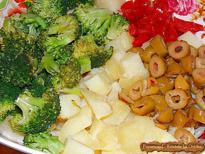 Salata de Broccoli si Cartofi cu Masline Picante (8)
