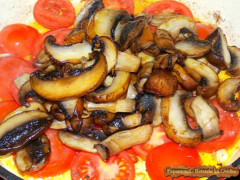 Ciuperci cu Rosii Trase la Tigaie (3)