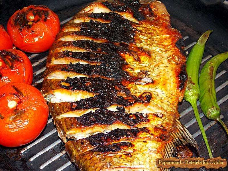 Saramura de platica. Cu usturoi verde si ciusca coapta (1)