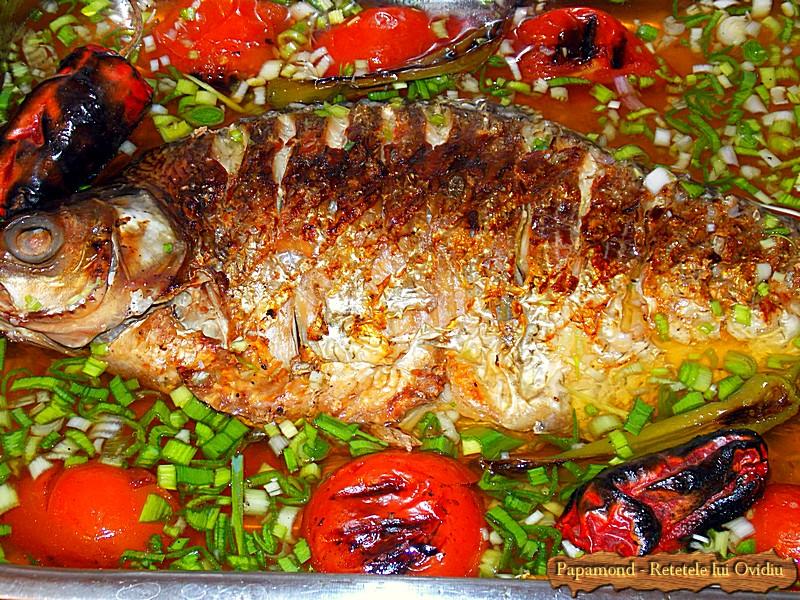 Saramura de platica. Cu usturoi verde si ciusca coapta (5)