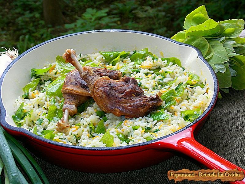 Pilaf de orez cu loboda (1)