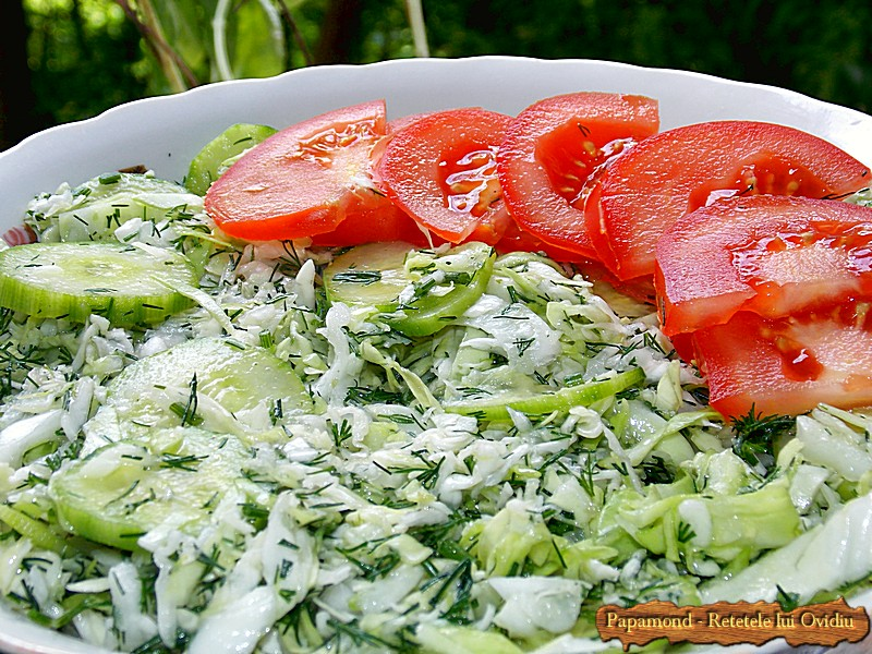 Salata de Varza cu Castraveti si Marar