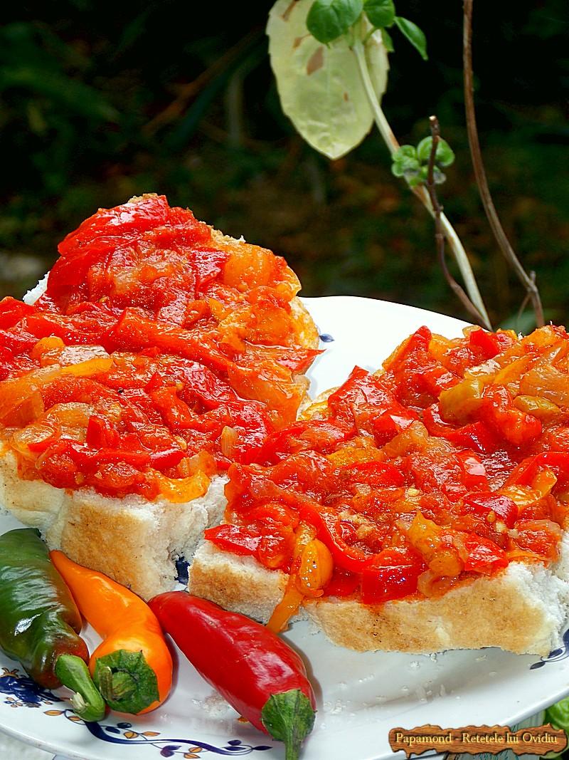 Tocanita de Ardei si Rosii - Lecso Fara Carne (13)