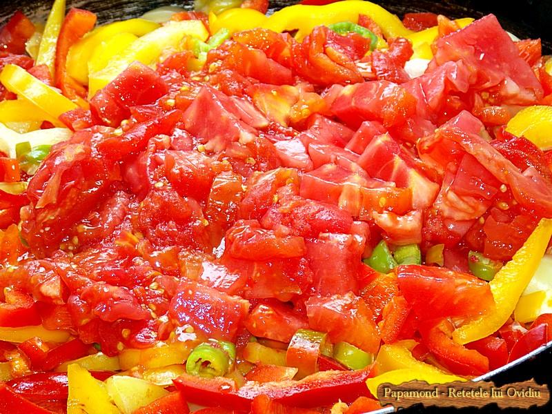 Tocanita de Ardei si Rosii - Lecso Fara Carne (4)