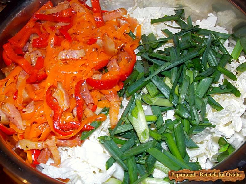 Salata De Varza Chinezeasca Cu Bacon 5