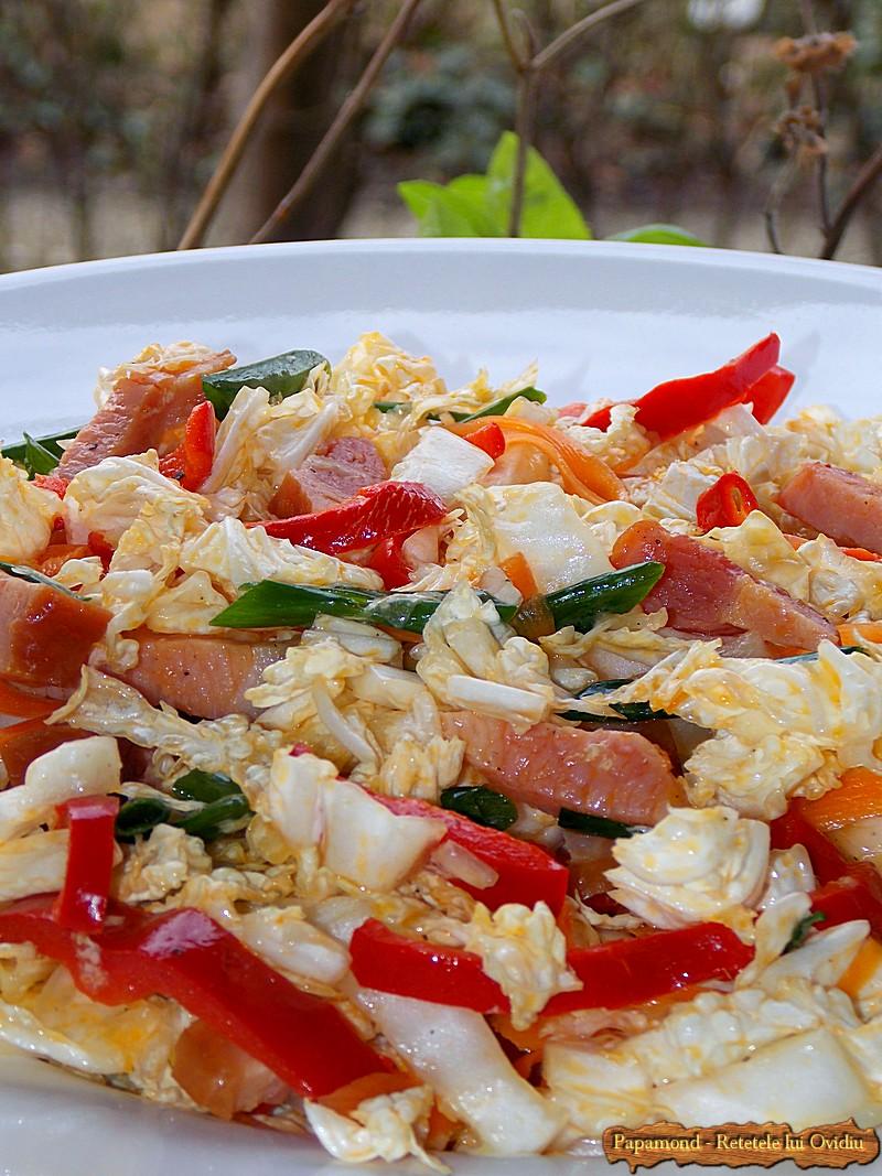 Salata De Varza Chinezeasca Cu Bacon 6