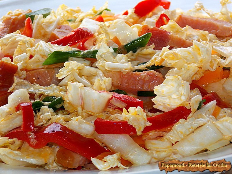 Salata De Varza Chinezeasca Cu Bacon 7